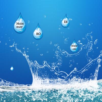 Có những loại nước nào trong khử trùng