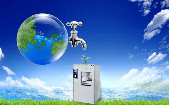 Nồi hấp tiệt trùng Consolidated với khả năng tiết kiệm nước và năng lượng đáng kinh ngạc