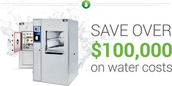 nồi hấp tiệt trùng BMM với công nghệ tiết kiệm nước